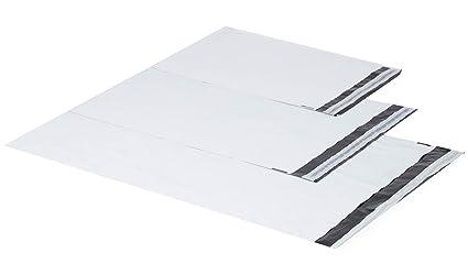 Blancas de plástico bolsas de envío bolsas para envío envío ...