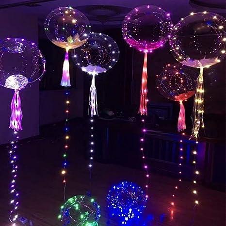 Luces LED tira Globo de onda de luz intermitente transparente Confesión, globo, interior,