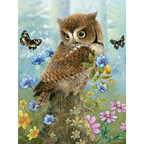 Bits and Pieces-Owl in The Meadow - 300 Piece Jigsaw -