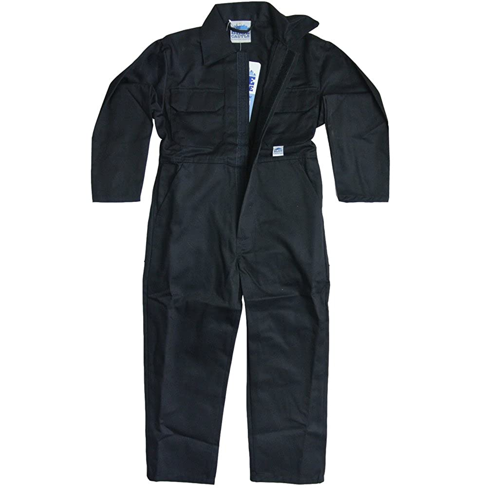 Kids Boilersuit Size 34 Age 13 years, Navy Blue Overall Boys Childrens Coverall Girls