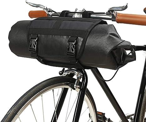 barsku - Bolsa para Manillar de Bicicleta, con Marco Frontal, con ...