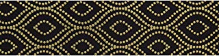 product image for Offray 1 1/2'' Avalane (Roll 25 yard) Black