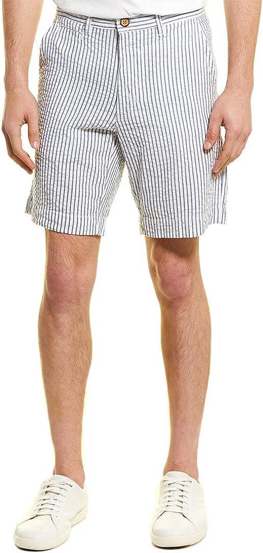 Vintage 1946 Men's Seersucker Flat Front Short