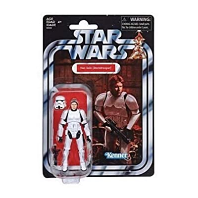 Star Wars Han Solo (Stormtrooper) The Vintage Collection 3.75 inch Action Figure: Toys & Games