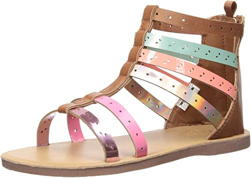 Sandals Carters OshKosh B/'Gosh Girl/'s Toddler Dressy// Casual Shoes New