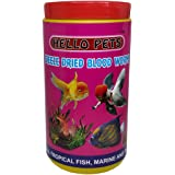 Hello Pet's Freeze Dried Blood Worms Fish Food, 55g (hp_bw_55)