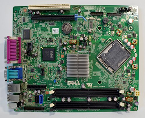 (New DELL Optiplex 760 Desktop SFF Main Logic Integrated Intel Chipset System Pentium/Celeron CPU Processor Socket LGA775 DDR2 SDRAM Dimm Memory Expansion Slots PCI Express VGA/USB/Serial/Parallel/ESATA/RJ45 Lan Performance M863N Motherboard F373D)