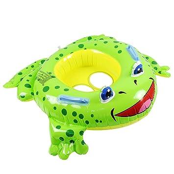 Amazon.com: Aviat Cute Frog - Anillo de natación inflable ...
