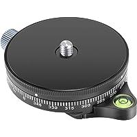 Neewer Camera Panoramic Panning Base with Arca Swiss Style Plate, 3/8-inch Screw Aluminum Alloy Panorama Ball Tripod…