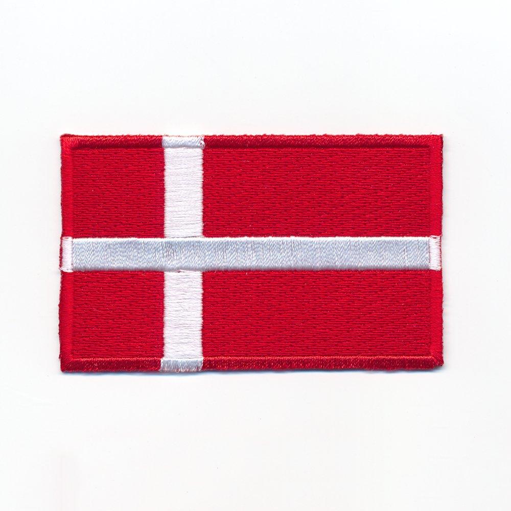 40 x 25 mm Danemark Copenhague Europe Drapeau Flag É cusson thermocollant 0947 A Import / Hegerring