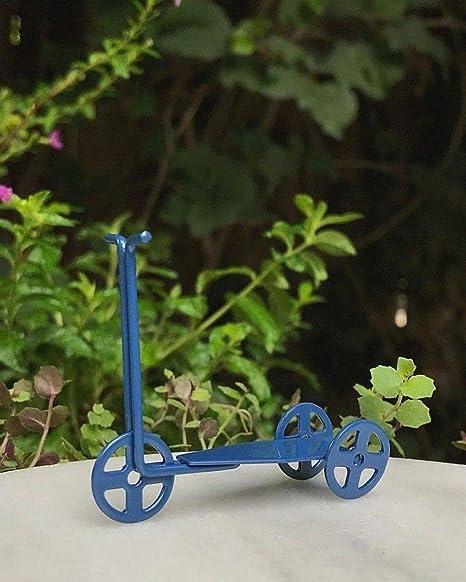 Miniatura casa de muñecas hada jardín accesorios ~ Mini azul ...