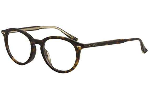 2c8060b199ad Amazon.com: Eyeglasses Gucci GG 0192 OA- 002 HAVANA /: Clothing