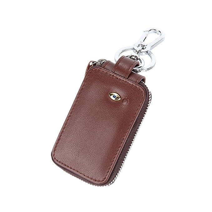 Smart Key bolsa Bluetooth anti-Lost coche llave multifunción ...
