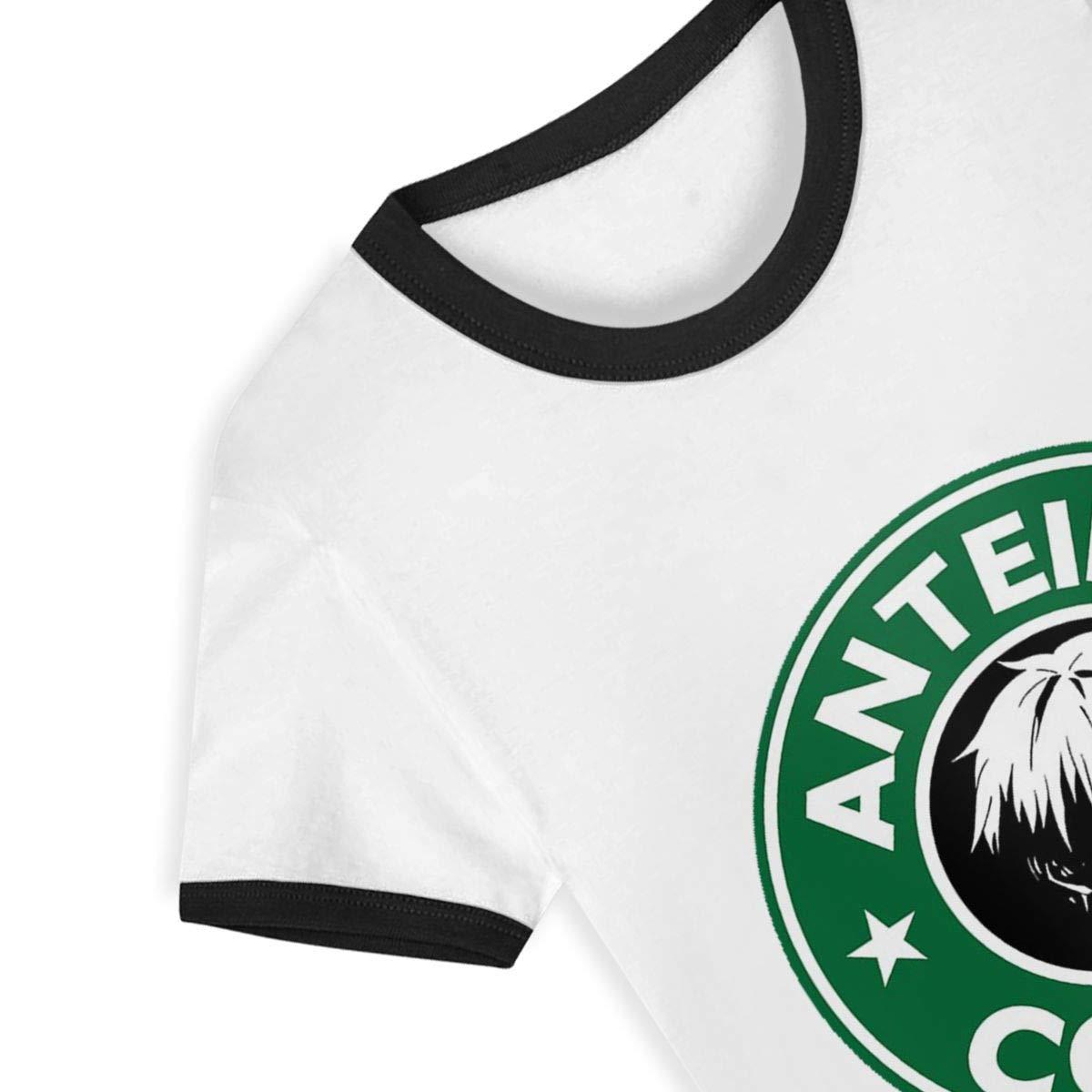Anteiku Coffee Tokyo Ghoul Anteiku Tokyo Ghoul Old Nines Toddler Baby Tee Boys Girls Baseball Short Sleeve T-Shirt