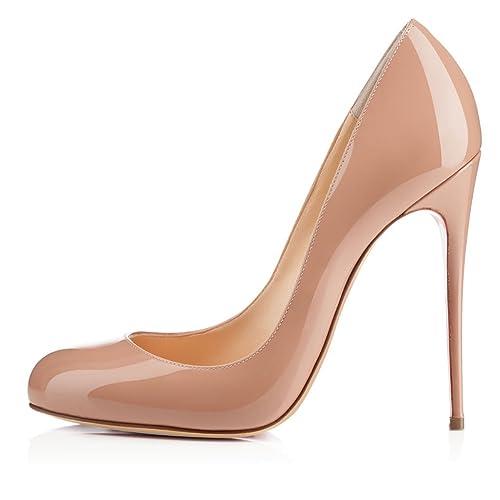 78d3e56899 Soireelady - Scarpe da Donna - Classico High Heels - Chiuse Davanti - 12CM  Scarpe col Tacco
