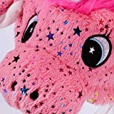 Hopearl Unicorn Hat with Ears Moving Jumping Pop Up