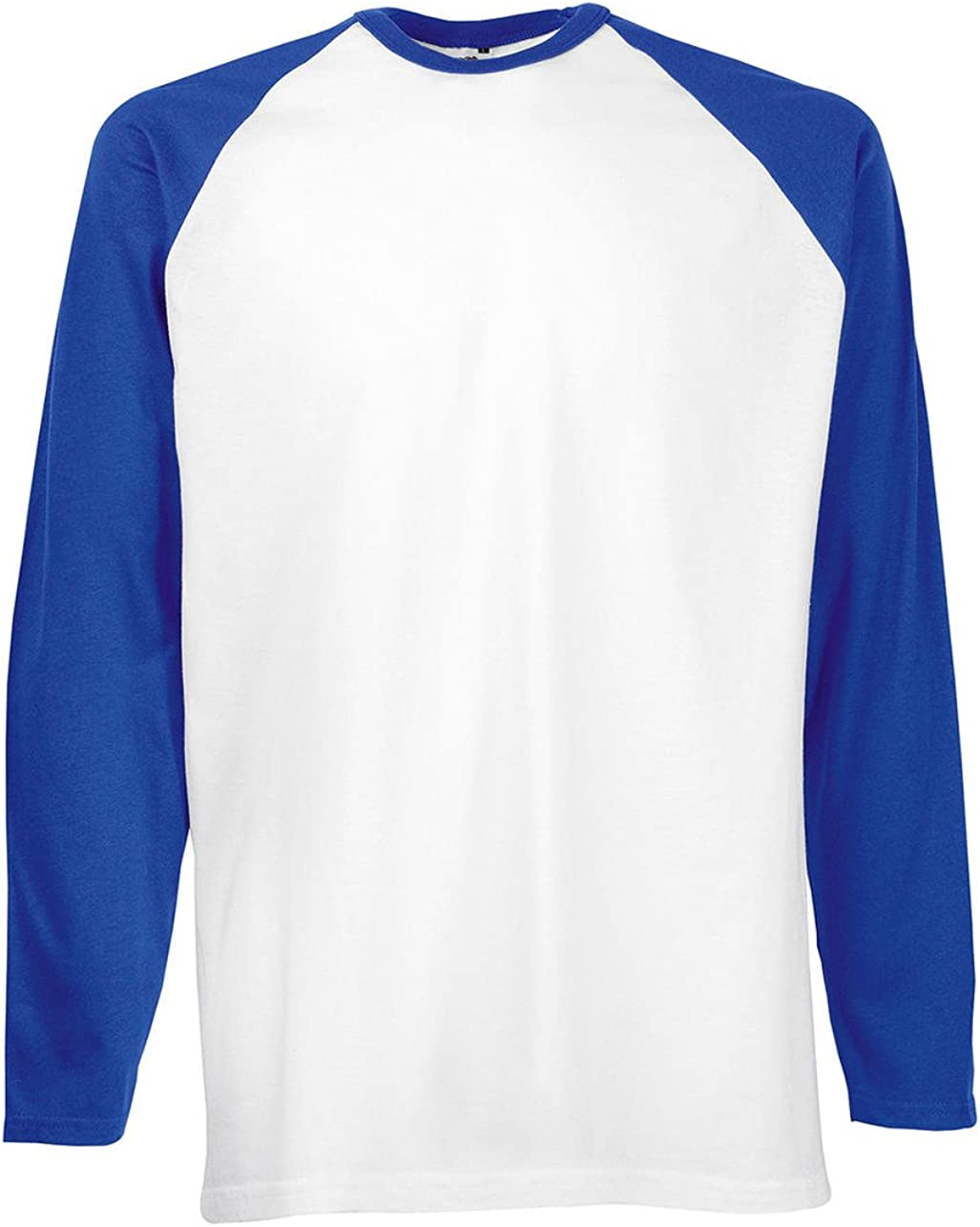 Fruit of the Loom Mens Baseball Classic Long Sleeve T-Shirt
