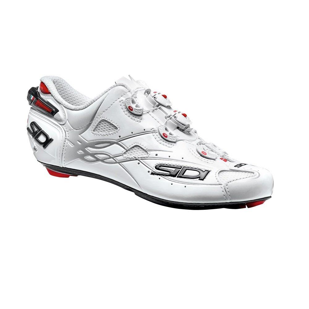 Sidi Shot Vent Carbon Cycling Shoe - Men's B01M22G6N8 47|White