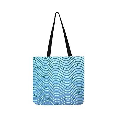 Amazon.com: Inkscape Lines - Bolso bandolera con diseño de ...