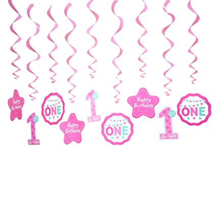 amazon com 1st birthday decorations baby girl s first birthday