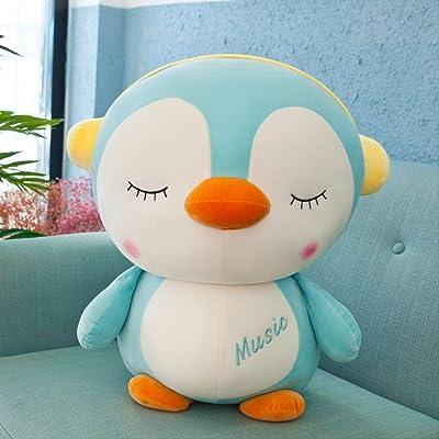 KLMNGUBVF Juguete De Peluche Pingüino Nueva Muñeca De Trapo Cruzado Suave Siesta Abrazo Almohada Cumpleaños Vacaciones Regalo Infantil 40 Cm C: Productos para mascotas