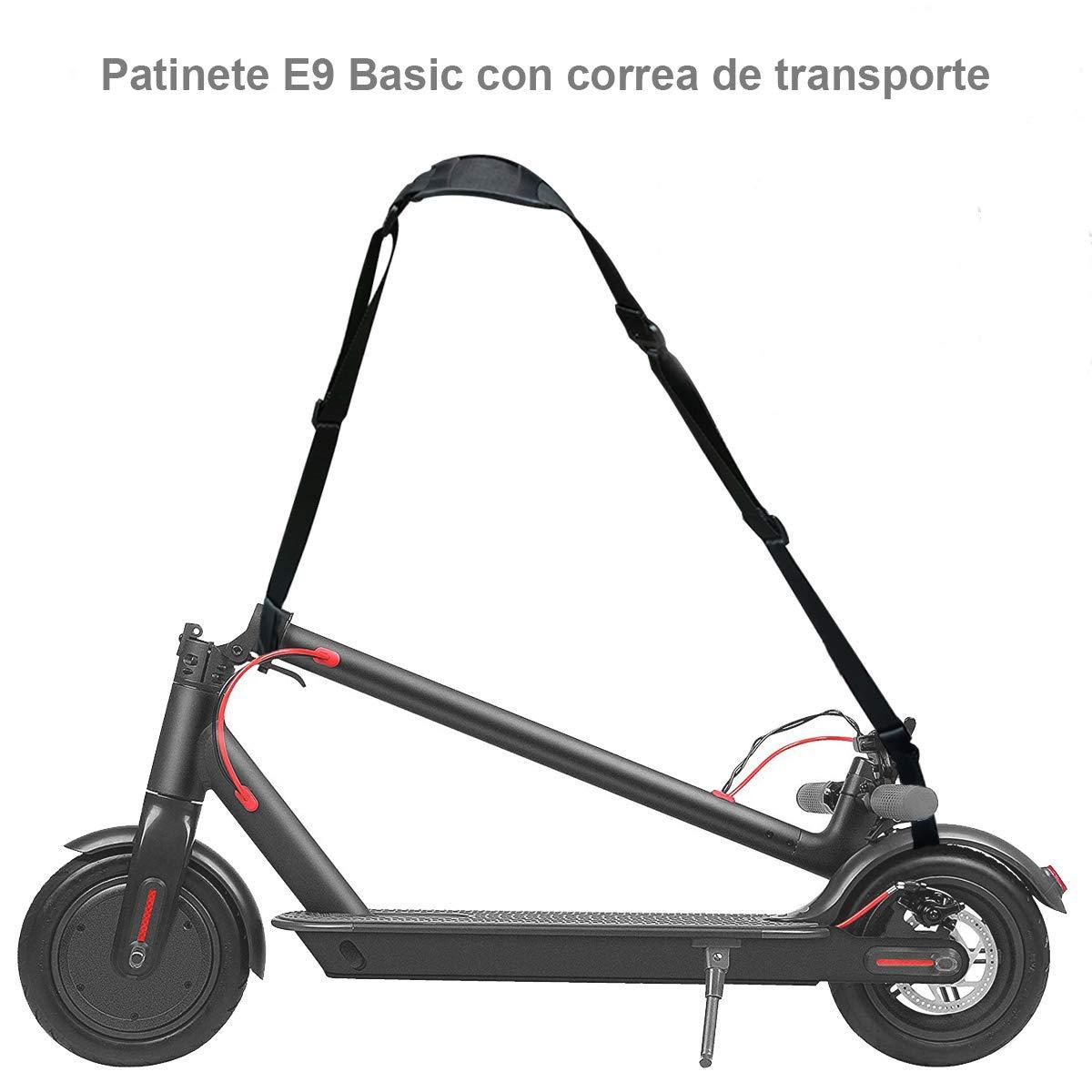 ZWheel Patinete Eléctrico E9 Basic ZLion 25 km/h 300W Motor Patinete eléctrico con Accesorios…