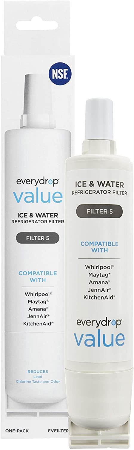 everydrop EVFILTER5 Refrigerator Water Filter, 1 pack
