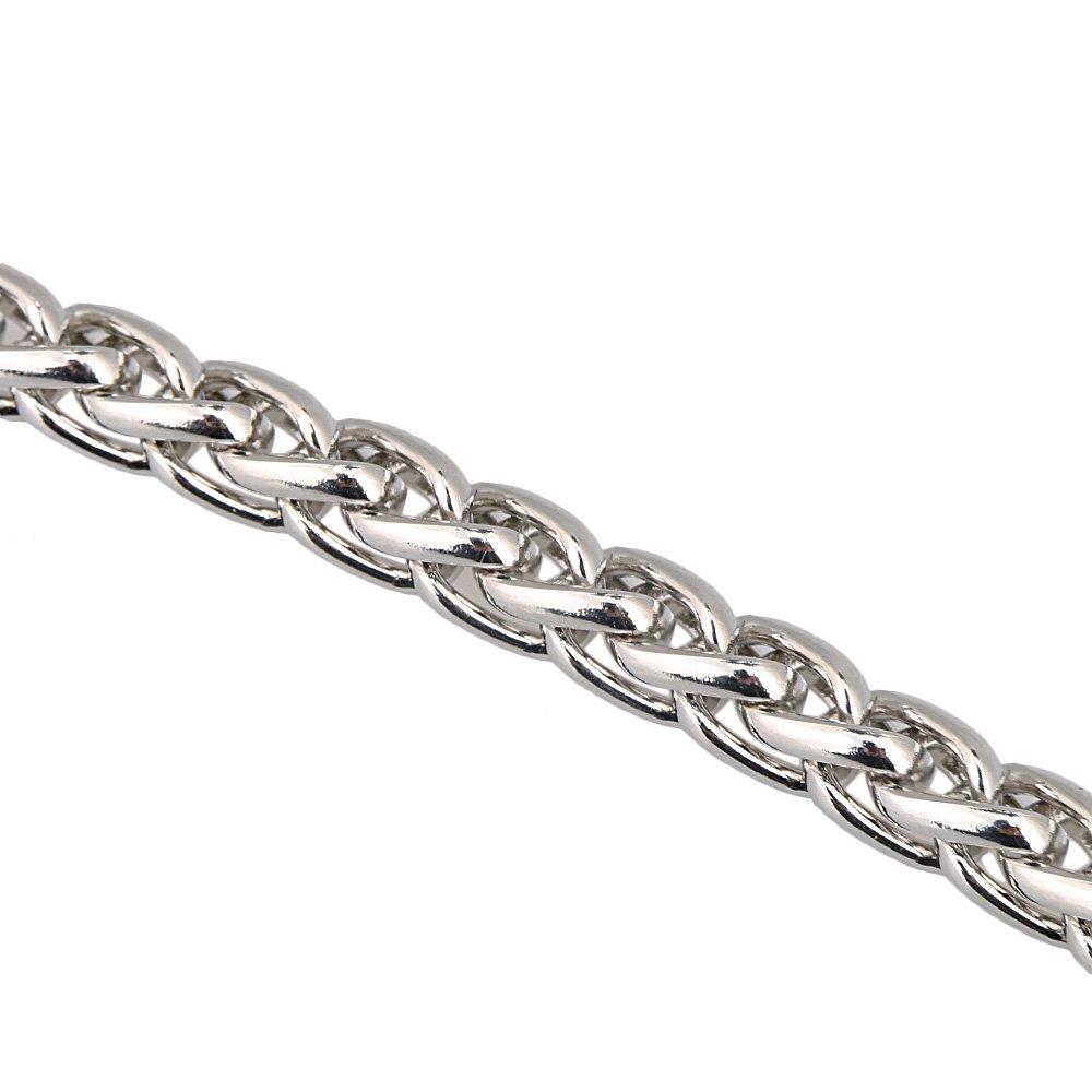Kettenb/ügel Geldbeutel Handgriff 1.2M Bronze Metal Chain Strap Schulter Umh/ängetasche Handtasche DIY Reparieren Ersatz