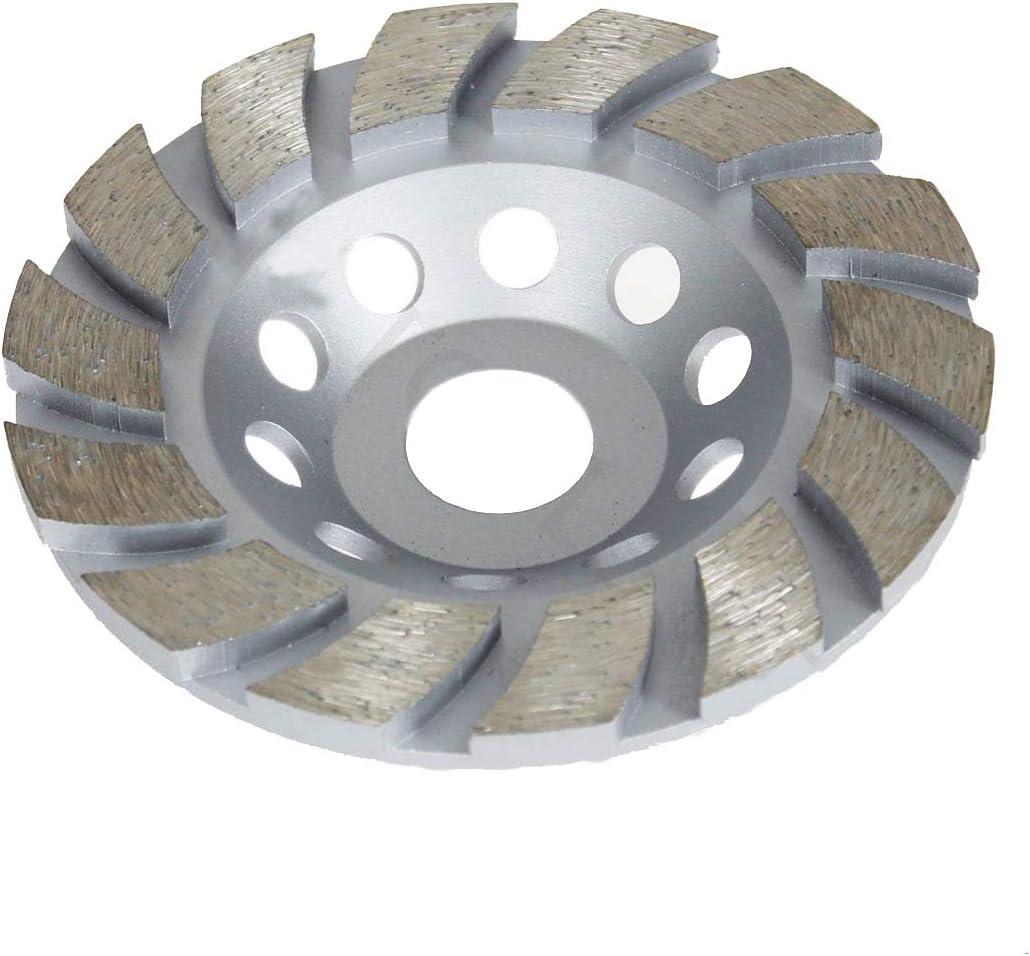 Disco de molienda de mármol para piedra de hormigón, diamante, 115 mm, 22,23 mm
