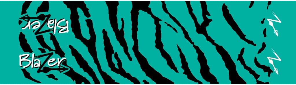 Bohning Tiger Arrow Wraps Teal Tiger Standard Arrow Wrap, 12pk