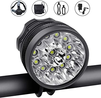 Outdoor Waterproof Bike Front Light Bicycle Head Lamp Strap Mount Accessory