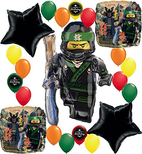 The Lego Ninjago Movie Deluxe Party Balloon Decorating Bundle