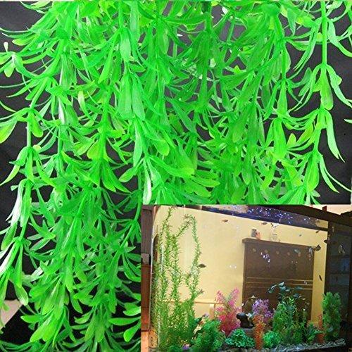 - Honory99 40-100CM Simulation Fake Plants Aquarium Grass Landscaping Ornament Decorations