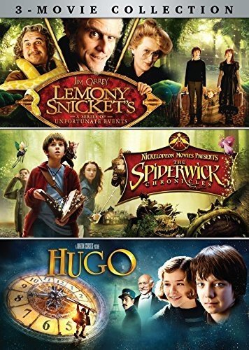 Lemony Snicket's/Spiderwick Chronicles/Hugo 3-Movie Collection from Paramount Home Entertainment