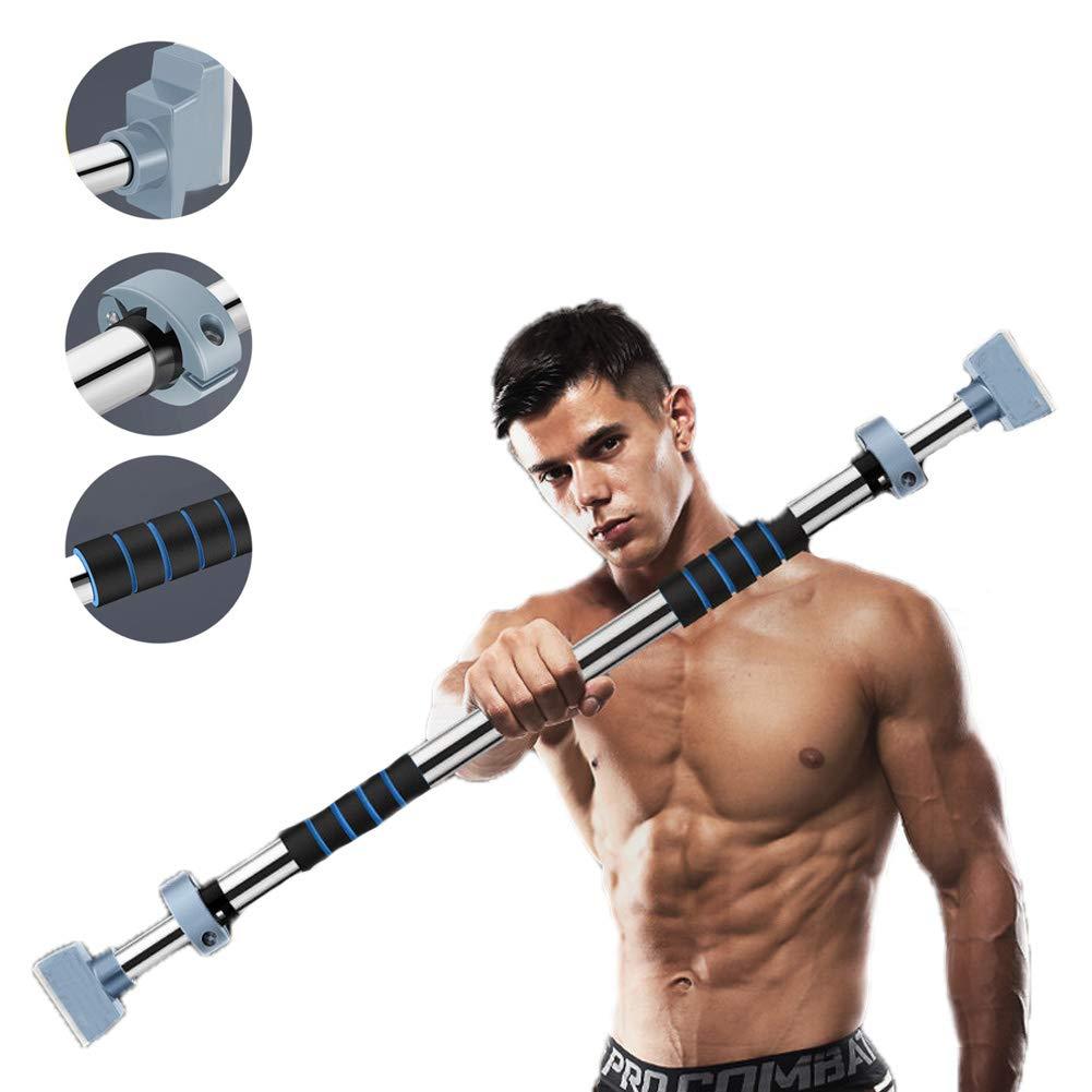 スポーツプルダウンバーフィットネスドアレバー調節可能な幅のためのホームエクササイズプッシュアップ、シットアップ,112to137cm   B07PLP8RQ1