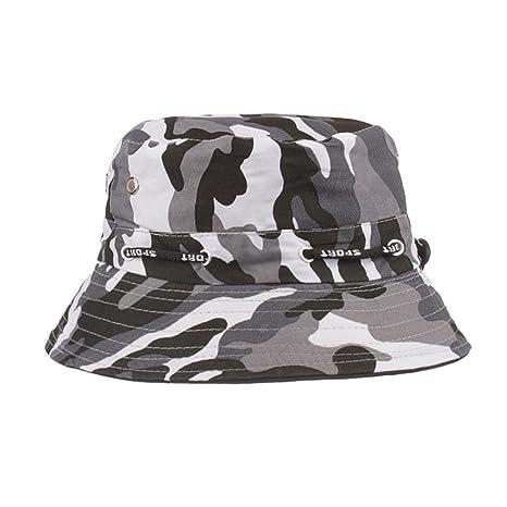 Elecenty Cappellino bouclè berretto regolabile Cappellino berretto militare cappello  da pescatore da uomo (Nero) d9be6b28ec44