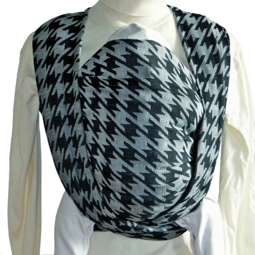 Didymos Baby Sling, Houndstooth Anthracite, Size 7