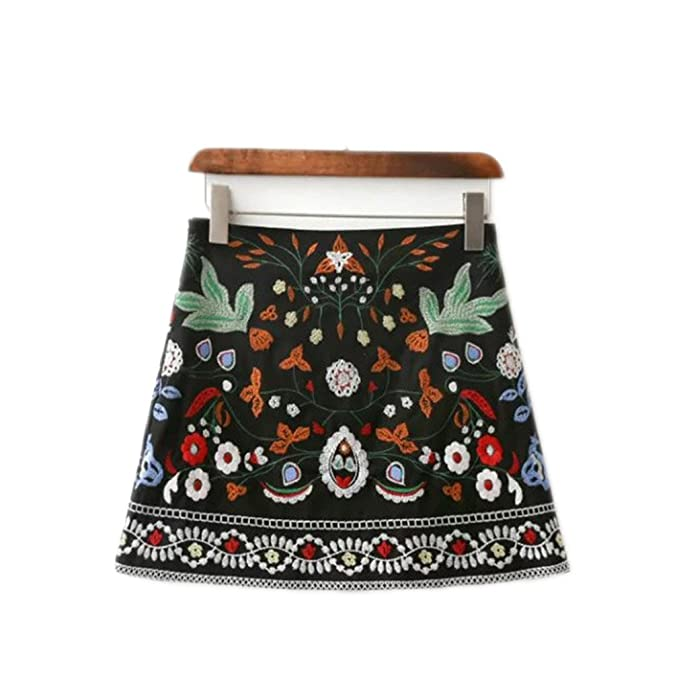 Skirts with Embroidery