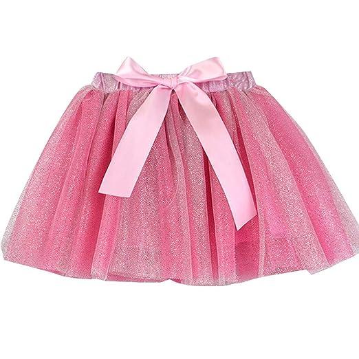 09d6a790c4a Tutu Tulle Skirt Girls Ballet Kids Birthday Princess Party Favor Dress Skirt  Set 2-5