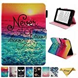 Kindle Paperwhite 2018 Case - JZCreater Folio PU Leather Case Cover with Auto Wake/Sleep for New Amazon Kindle Paperwhite 10th Generation E-Reader 2018, Dreams
