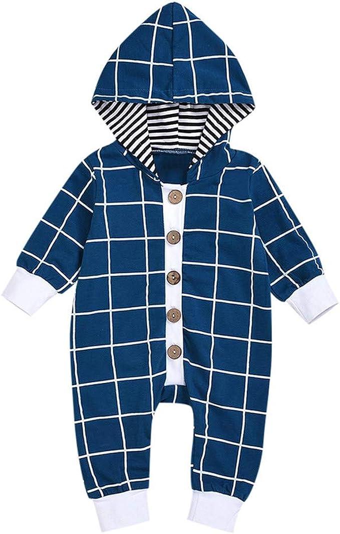 Amazon.com: Bebé recién nacido ropa de niños de manga larga ...