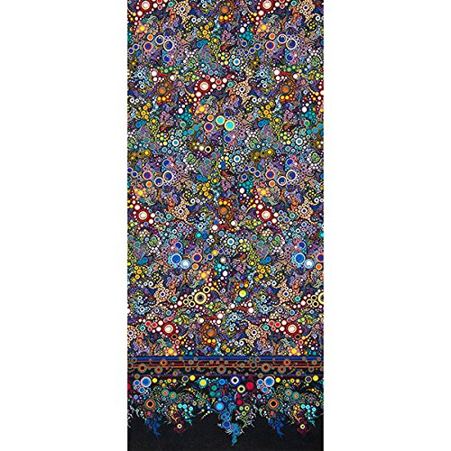 Effervescence Single Border Mod Bubbles Primary Fabric By The (Blue Fabric Borders)