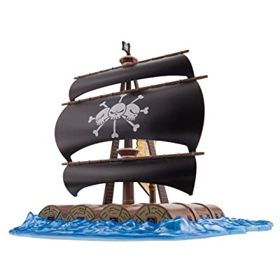 Bandai Hobby Grand Ship Collection Mashall D Teach's Ship Action Figure: Toys & Games