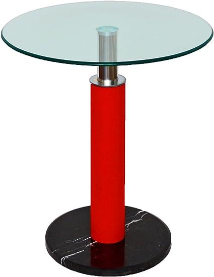 10 mm vetro di sicurezza ts-ideen Tavolo vetro tavola da bar rotondo /Ø 60 cm