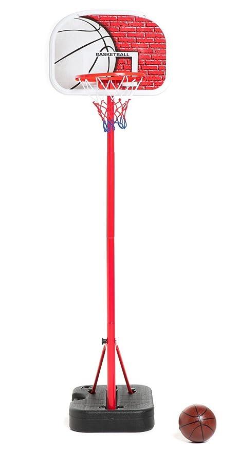 AFX Juego de canasta de baloncesto ajustable, portátil, ligera y ...
