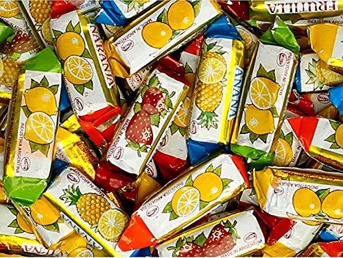 Arcor Vienna Fruit Filled Hard Candies 6 Lb Bag
