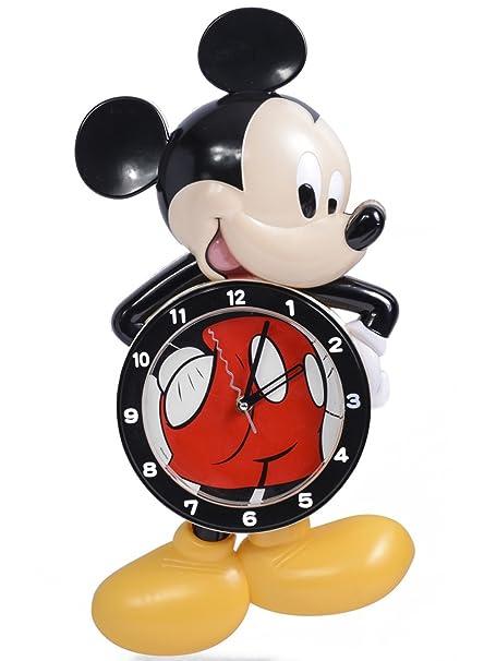 Mickey Mouse Large Pendulum Wall Clock: Amazon.co.uk: Kitchen & Home