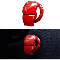 Cubierta para botón de arranque de motor de coche, botón de arranque, cubierta protectora para llave de encendido de…