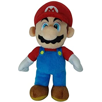 "1 X Super Mario Brothers - Mario 9"" Soft Toy (Official Merchandise)"
