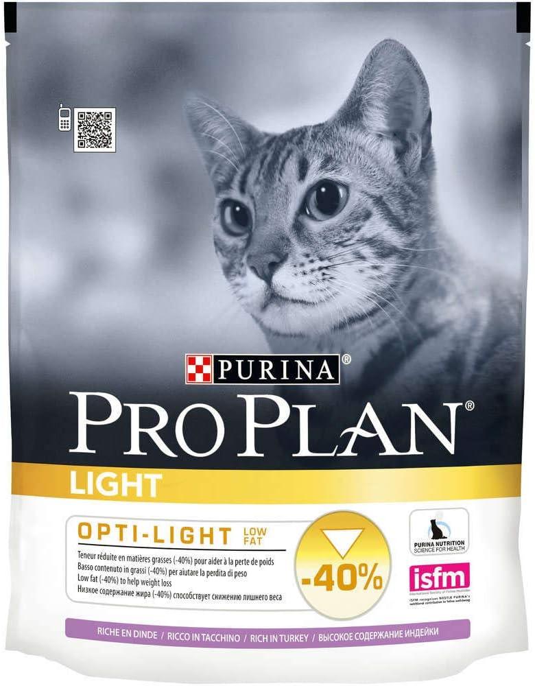 Proplan pienso gato Light pavo y arroz: Amazon.es: Productos para mascotas